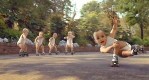 Evian – Roller Babies