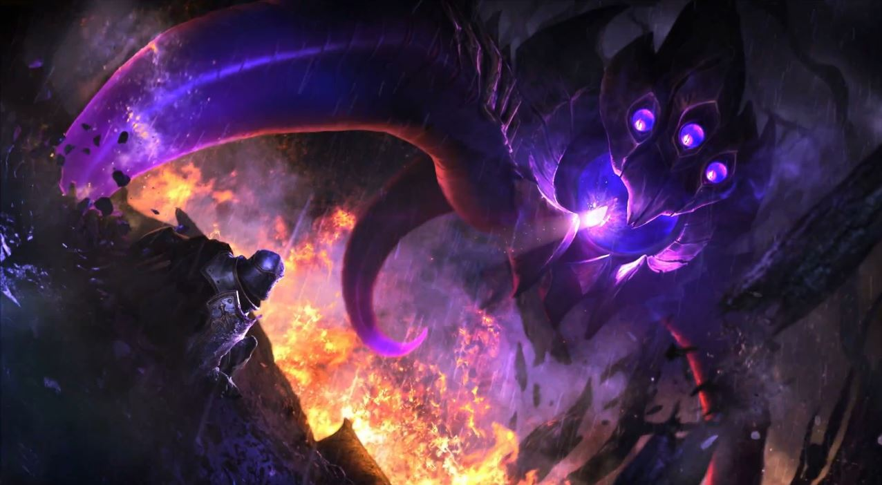 League Of Legends - VelKoz First Contact