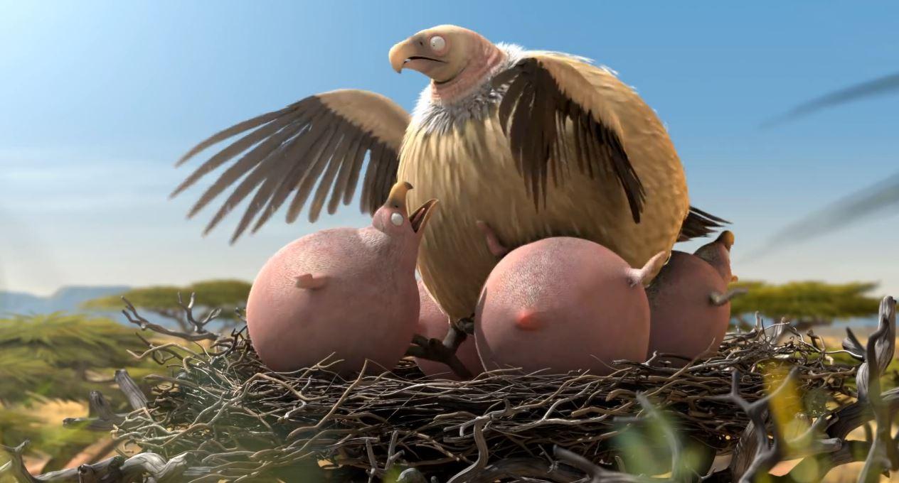 VultureWhatIfAnimalsWereRound