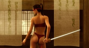 Virtual swordfight – Animatrix animation